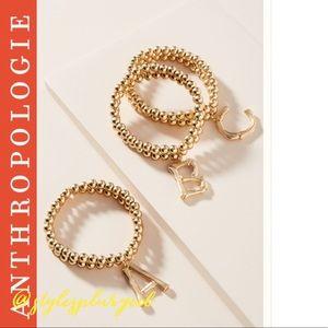 "NWT ANTHRO⭐️Top Rated⭐️Monogram ""A"" Bracelet"